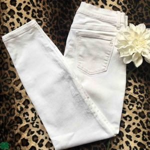 Madewell White High Rise Skinny Jeans Size 29